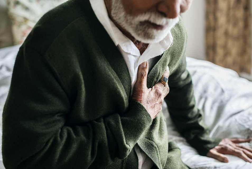 کاهش درد سینه