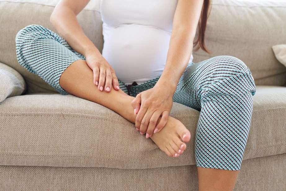 درمان پا به شدت متورم