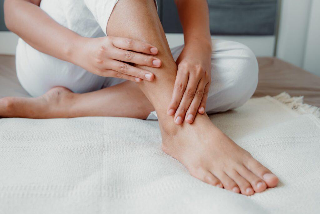 انواع تورم پا